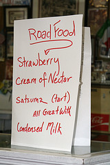 Roadfood menu