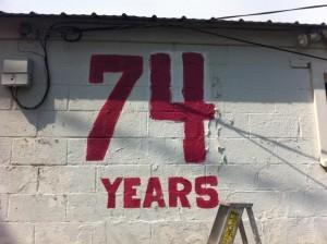 74 Years