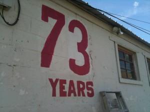 73 years