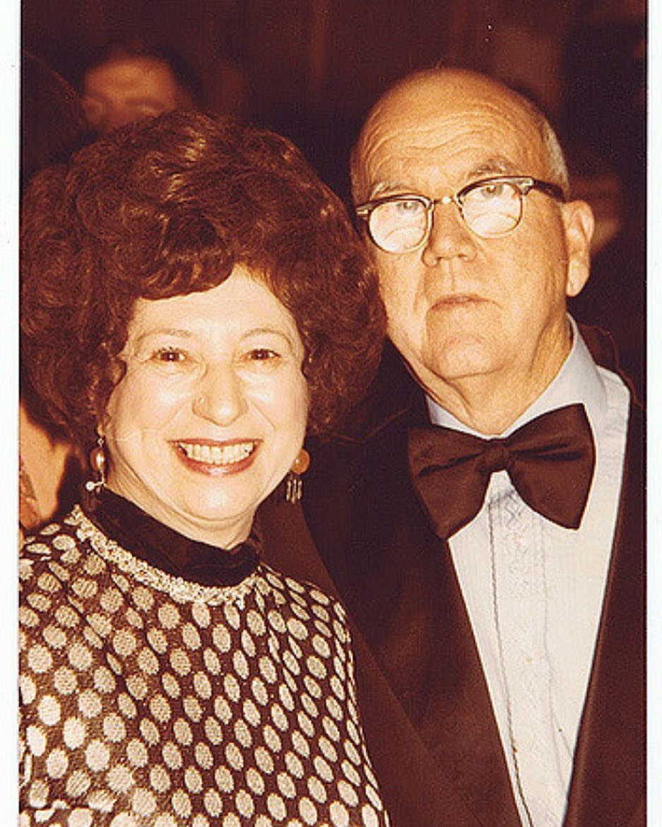 #tbt with Mary and Ernest enjoying a night out on the town!