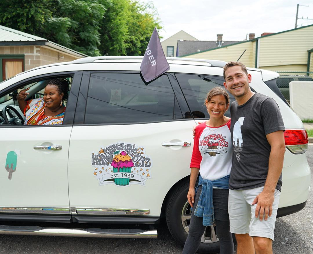 "Look for the friendly #UberIceCream drivers around the metro NOLA area between 11 am and 3 pm. Order via the #Uber app starting at 11 am on the ""Ice Cream"" View. If no cars are available in the app, keep trying, demand will be high! Each driver accepts a ping once they're done with an order and as soon as the driver has accepted your request, they're on their way to you with sweet treats!"