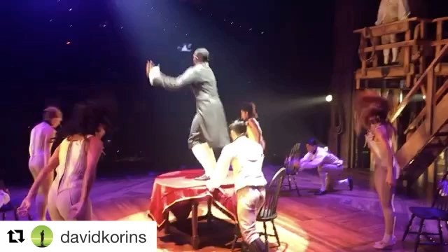 Happy Fri-YAY! It's today! Our 78th Season begins at 1 pm! #RoomWhereItHappens #snobliz #openingday #Repost @davidkorins with @repostapp ・・・ Jumping into Friday (& the weekend) w all the energy I have. @hamiltonmusical 🌬