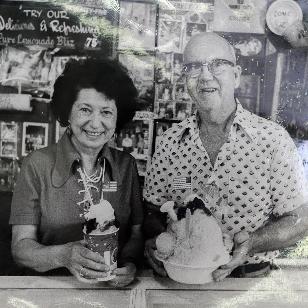 Bicentennial #tbt to '76 with Mary & Ernest! #ThereAreNoShortcutsToQuality