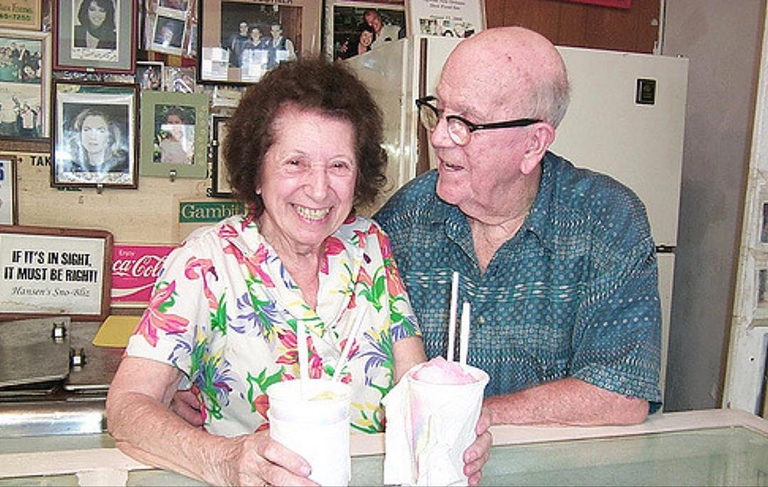 "Today we wish our beloved founder, the late Ernest Hansen, a happy birthday from all of us at Hansen's Sno-Bliz and his many fans throughout the years! We're so thankful for his contributions to New Orleans and his legacy as we continue in the pursuit of his belief that ""there are no shortcuts to quality."""