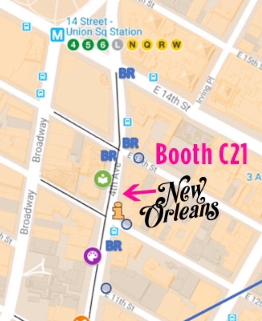 So excited for this Sunday in NYC! We will be at Pride Fest at for making Cream of Nectar & Satsuma snoballs. Here's our spot! If you're in New York for Pride come say hello and let us make you a Sno-Bliz Sunday from 11 am – 6 pm on 4th Ave between E 12th & E 13th Streets. If you're in New Orleans (fear not) we are open regular hours all weekend on Tchoup!