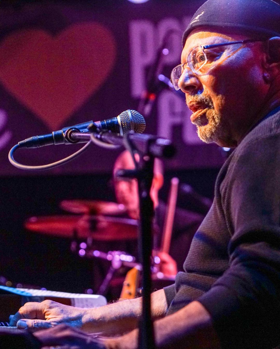 "It's difficult to put into words just what the loss of Art Neville means to the Hansen's Sno-Bliz family. He was our neighbor, our primary musical inspiration, father to our dearest friends Arthel, Ian and Amelia, husband to Lorraine, and a legend and forefather in many musical genres whose contributions will be felt for generations to come. We celebrate Poppa Funk's life and countless contributions to New Orleans culture with his favorite snoball — Purple, Green, and Gold — Grape, Spearmint, and Pineapple — as old school as a snoball can get.  Upon ordering this combination, Mr. Art said, ""Everyday is Mardi Gras when you're a Neville."" It was always our honor.  Thank you for being such an integral part of our Hansen family. 📷: @mauxfo"